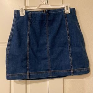 Wild Fable Mini Denim Skirt - Size 10
